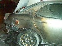 Incendio auto direttore sportivo Gallipoli