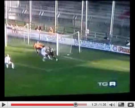 Il Goal di Cigan in Samb - Padova 1 - 0