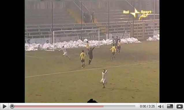 goal di Cammarata in Pergocrema - Samb 2 - 1