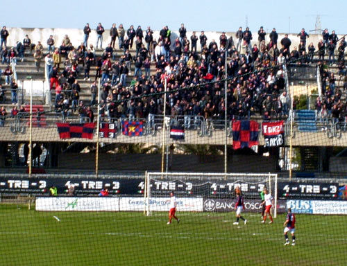 Samb - Ravenna 0-1 Curva Nord