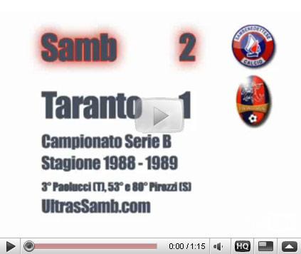 Samb-taranto 2-1 1989