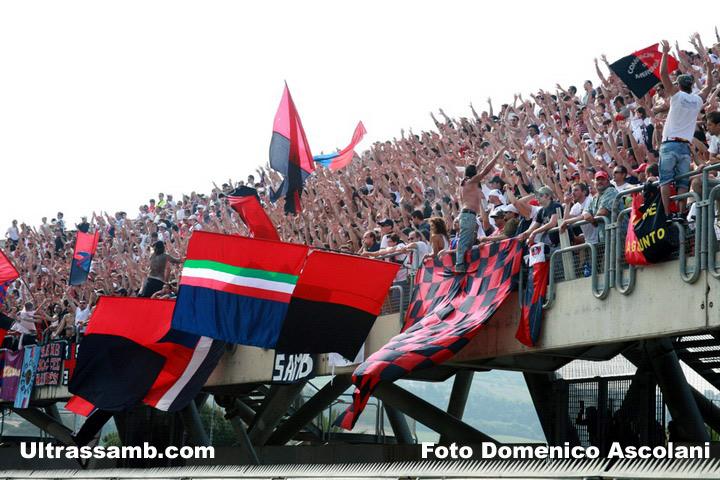 Samb - Reggiana Curva Nord Massimo Cioffi