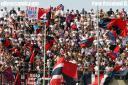 Samb - Reggiana 0-0 la Curva Nord