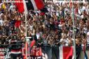 Samb - Reggiana 0-0 Curva nord