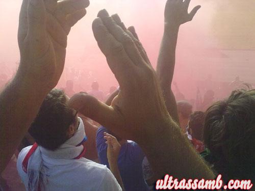 Tifosi della Samb a Montegranaro