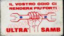 Tessera Onda D'Urto - Ultras Samb