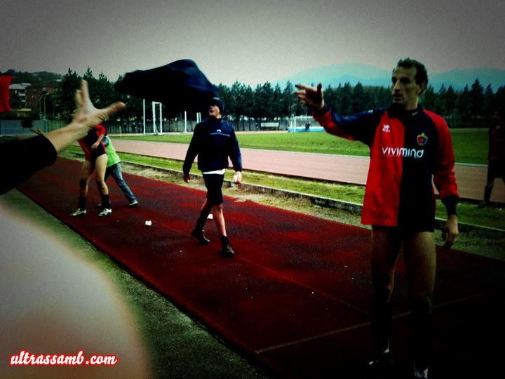 Fabriano - Samb 0-3 fine partita