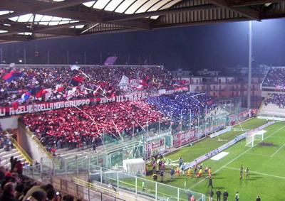 curva dello stadio Jacovone Tatanto