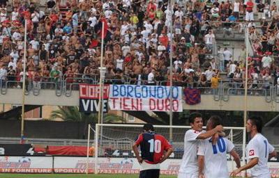 Ultras Samb pro Stefano Borgonovo