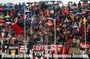 Samb - Lecco 0-0 play out curva nord